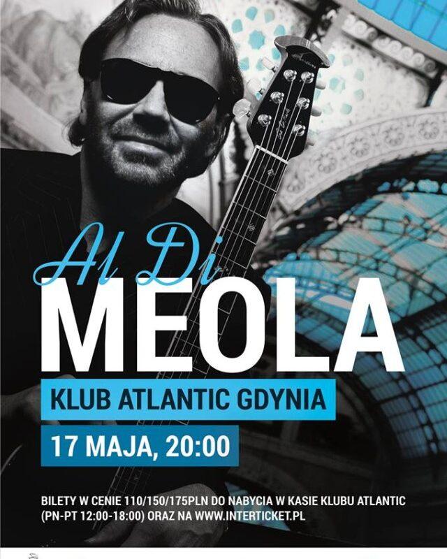 Niesamowity Al Di Meola już niedługo w gdyńskim Atlanticu