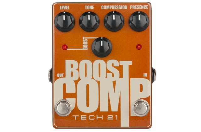 Nowy efekt Tech 21 Boost Comp
