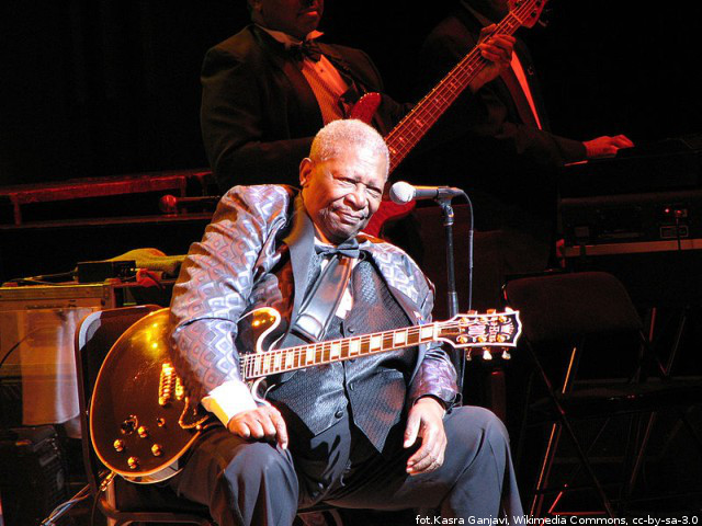 Herosi rock and rolla w TopGuitar: B.B. King