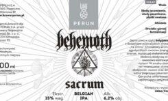 """Piwo """"Sacrum"""" od Behemoth"""