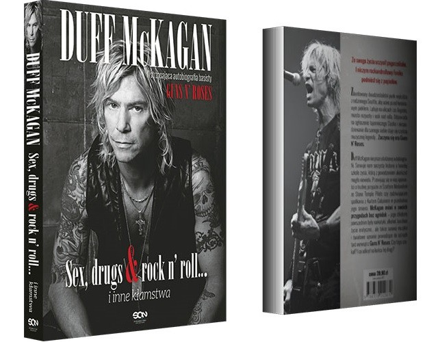 "Duff McKagan: autobiografia ""Sex, drugs & rock n' roll… i inne kłamstwa"""