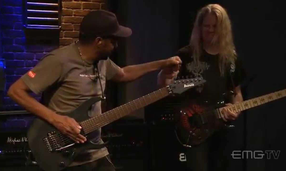 Gitarowy pojedynek: Tony MacAlpine i Jeff Loomis