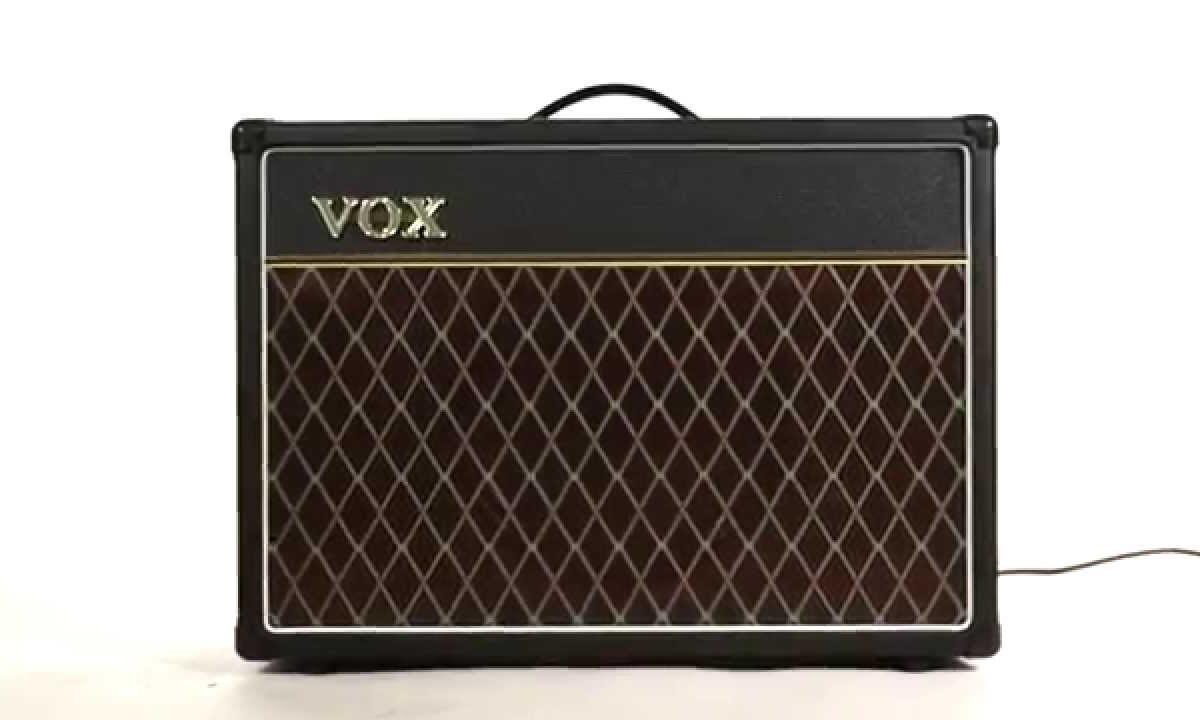 Posłuchaj jak brzmi Vox Custom Series AC15C1