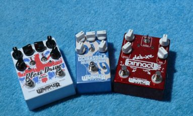 Wampler Clarksdale Delta Overdrive, Pinnacle Distortion, Plexi Drive Deluxe - test efektów gitarowych