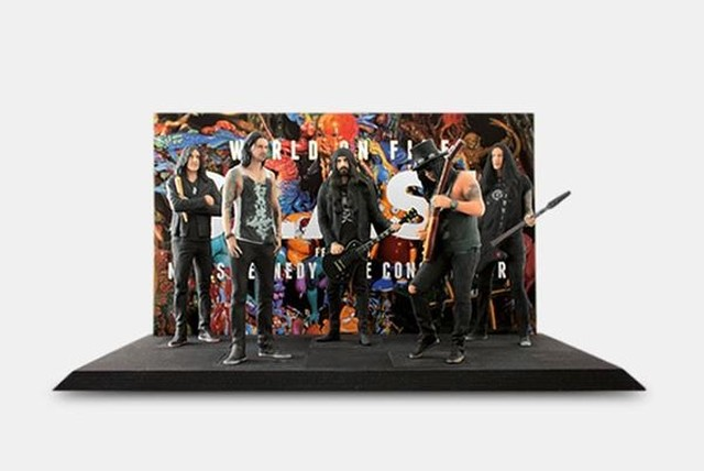 Figurki Slasha i zespołu Myles Kennedy & The Conspirators