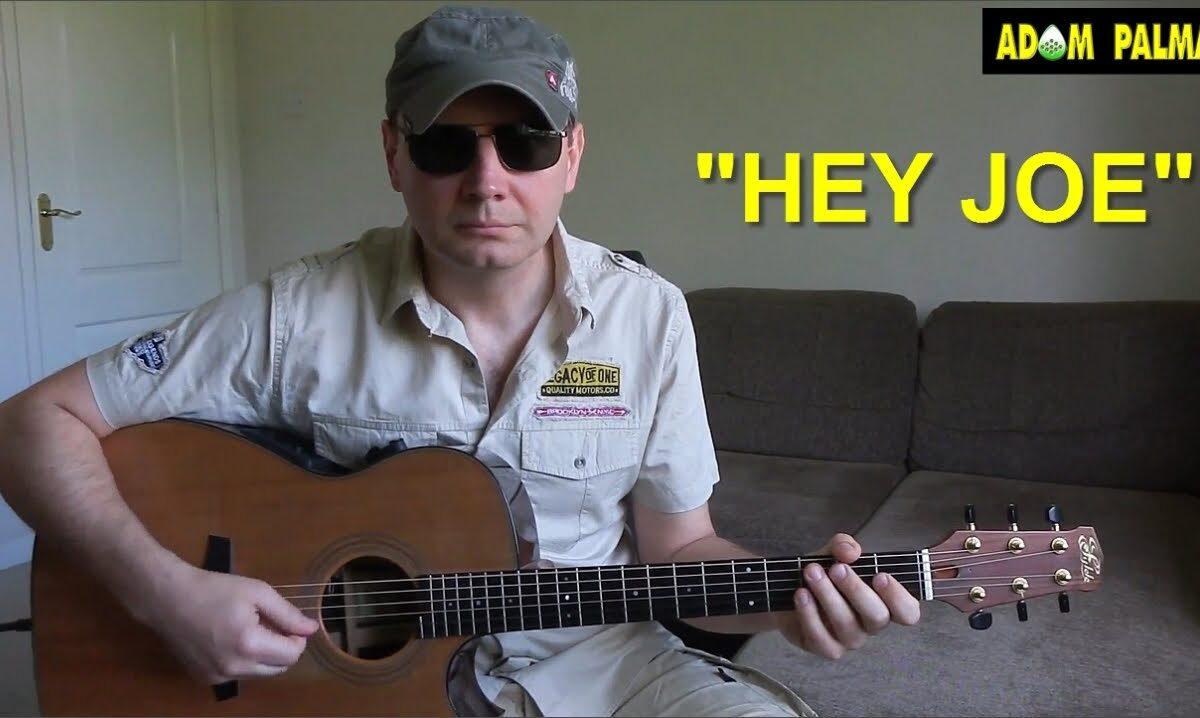 """Adam Palma gra """"Hey Joe"""""""
