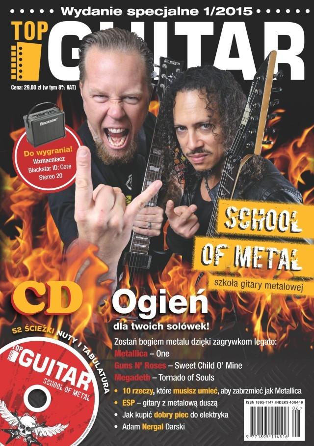 topguitar school of metal wydanie specjalne