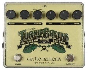 EHX Turnip Greens Pedal