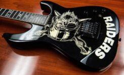 Gitary Jeffa Hannemana ze Slayer na aukcji