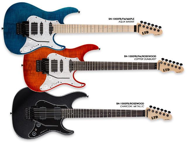 Nowa seria gitar LTD SN od ESP Guitars