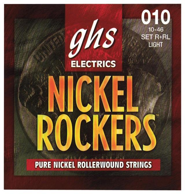 Struny do gitary elektrycznej GHS Nickel Rockers