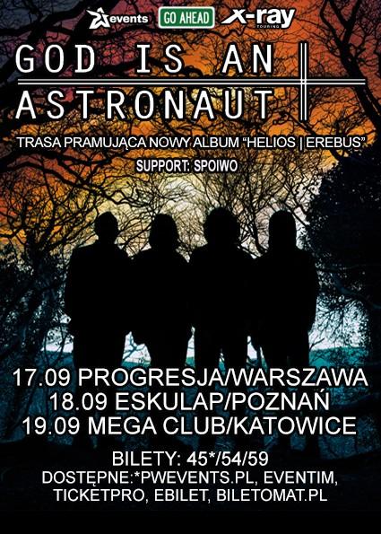 God is an Astronaut na trzech koncertach