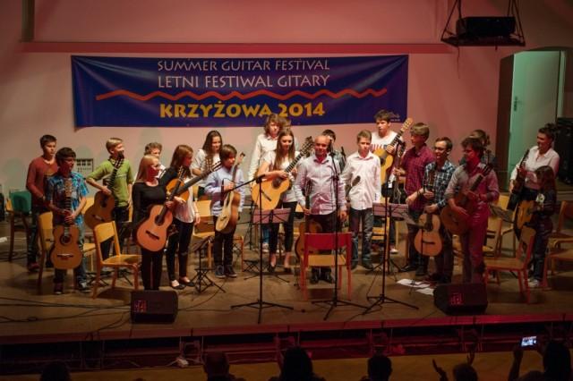 Letni Kurs Gitary w Krzyżowej: koncerty dla wszystkich