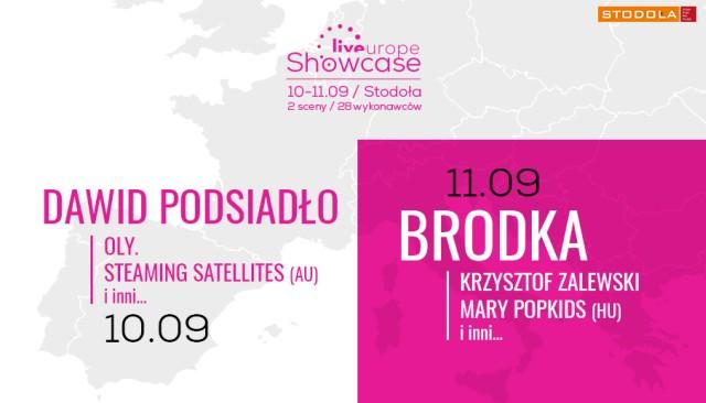 Liveurope Showcase dwukrotnie w Klubie Stodoła