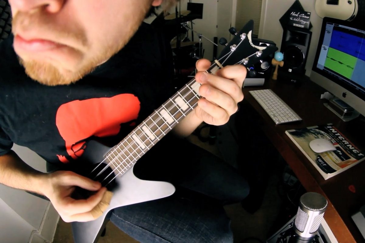 "Pantera ""Cowboys from Hell"" na ukulele"