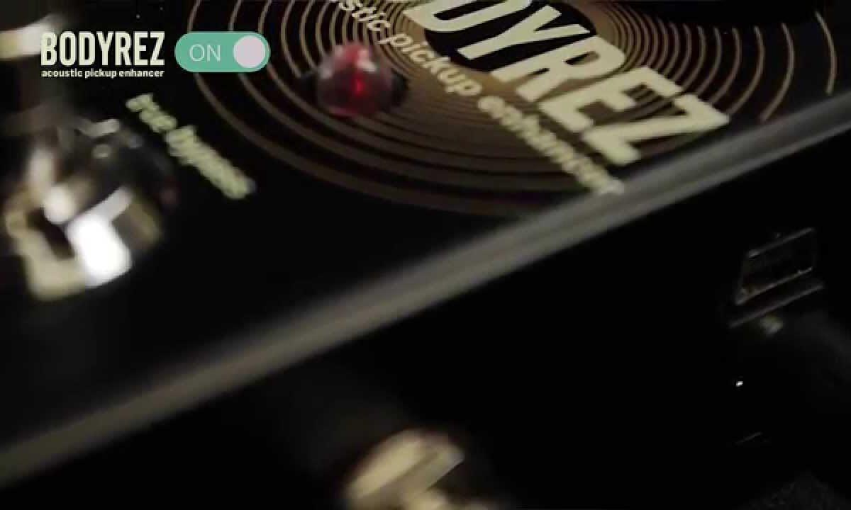Efekt TC Electronic BodyRez do gitary akustycznej