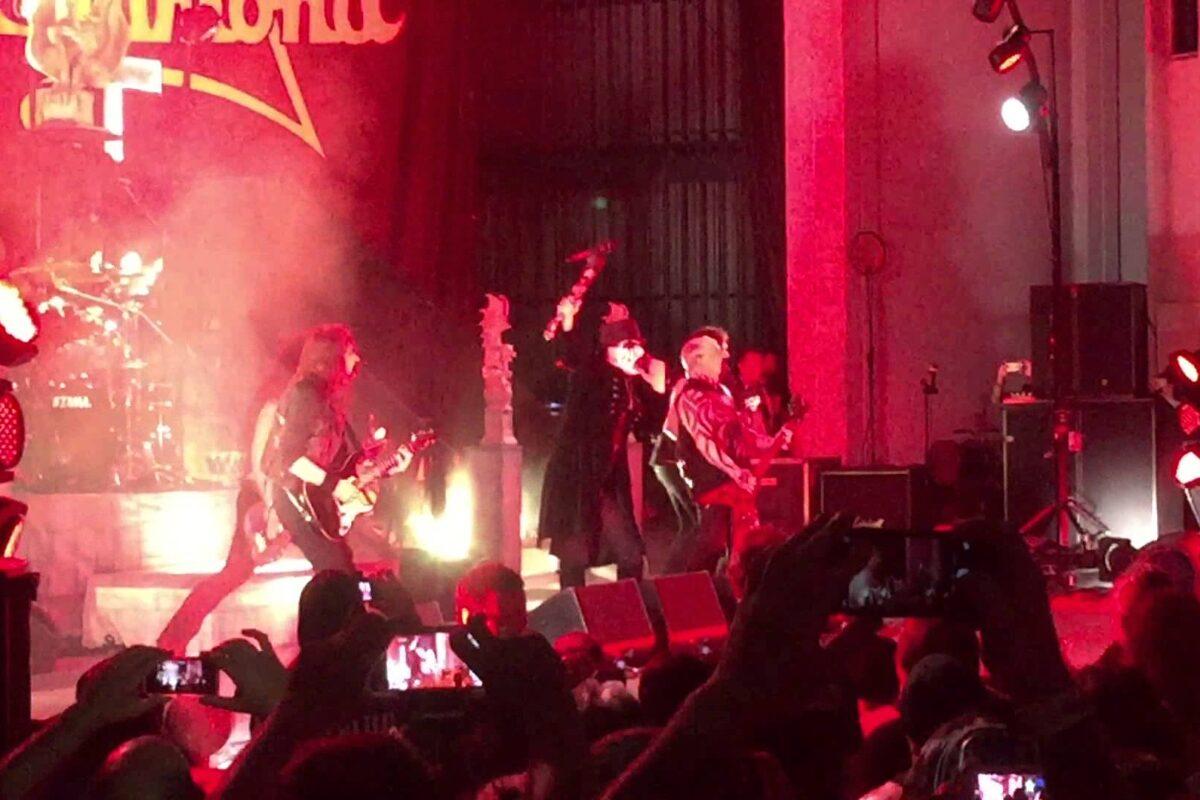 "King Diamond i Kerry King grają ""Evil"" Mercyful Fate"