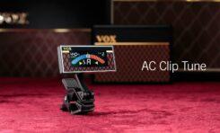 Vox wypuścił nowy tuner AC Clip Tune clip-on