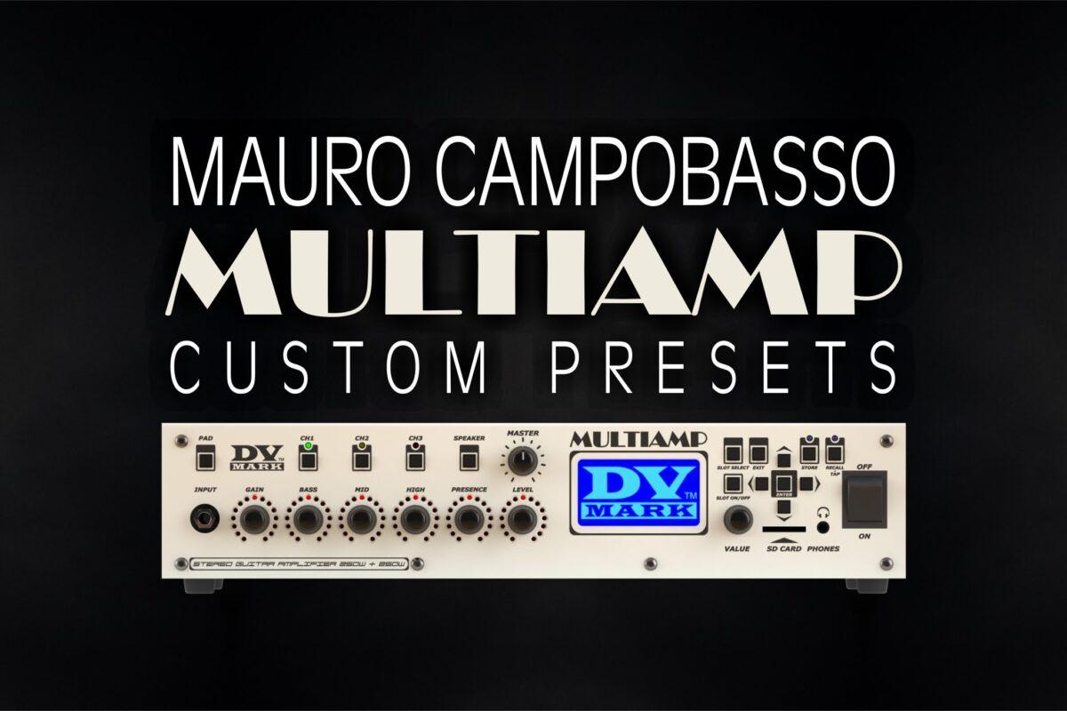 DV Mark Multiamp Custom Presets