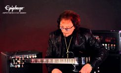 Epiphone Ltd. Ed. Tony Iommi Signature SG Custom