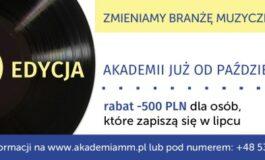 Akademia Menedżerów Muzycznych rozpoczyna nabór do 7. edycji