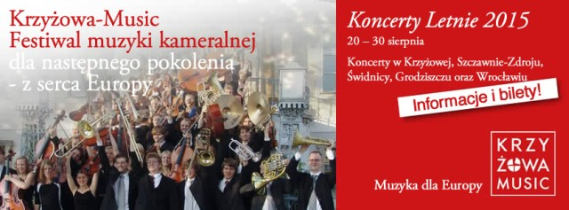 Pierwszy tydzień Festiwalu Krzyżowa-Music na Dolnym Śląsku