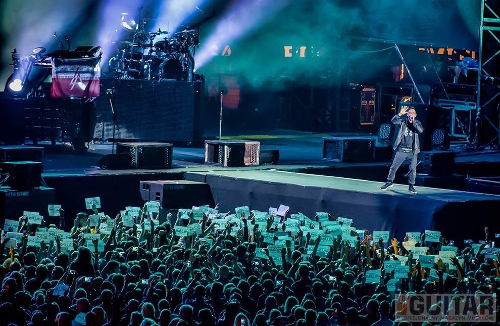 Linkin Park zagrali w Rybniku
