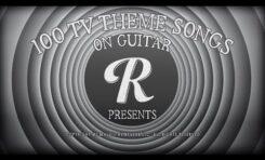 100 tematów telewizyjnych na gitarze