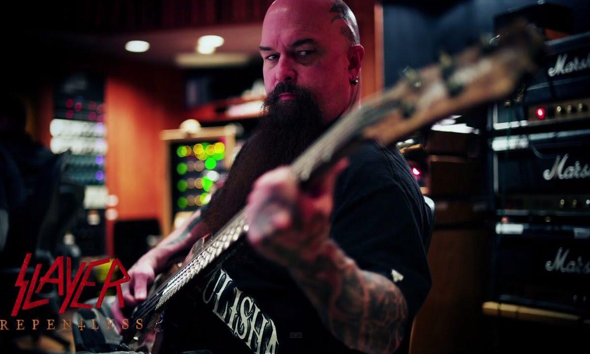 "Slayer o nagrywaniu gitar na nowy album ""Repentless"""