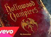 "Hollywood Vampires (Alice Cooper, Johnny Depp) i ""My Generation"" The Who"