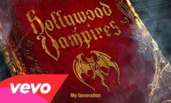 "Hollywood Vampires (Alice Cooper, Johnny Depp) i ""My Generation"" The Who"