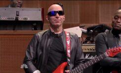Joe Satriani gościem Jimmy'ego Fallona