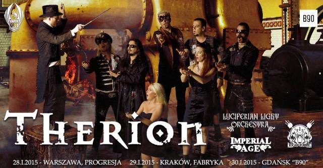 Therion zagra trzy koncerty w Polsce