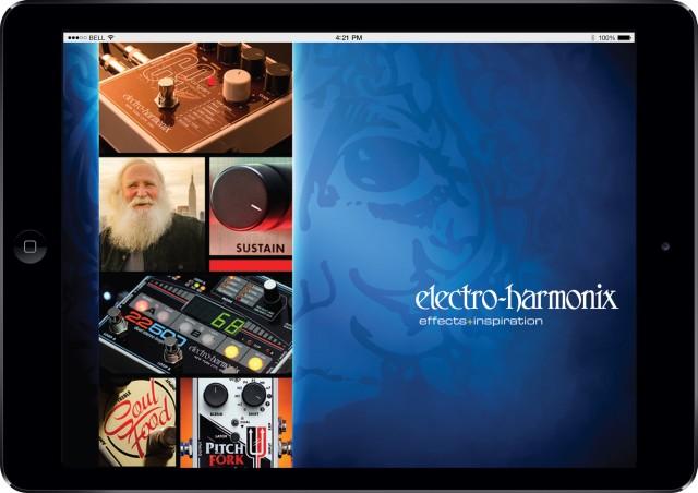 Aplikacja mobilna Electro-Harmonix