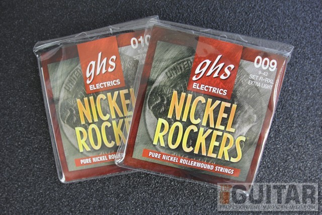 GHS Nickel Rockers – mini-test strun gitarowych w TopGuitar