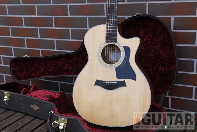 """Taylor 314 CE – test gitary elektroakustycznej  z wyróżnieniem """"Sprzęt na Topie"""""""