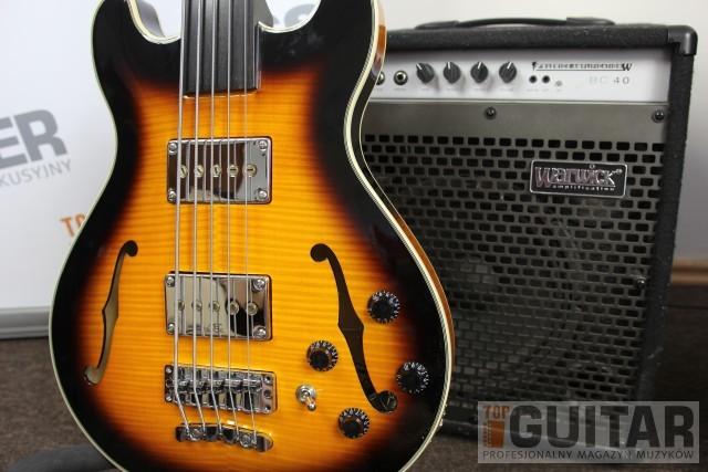 """Warwick RB Star Bass Fretless – test gitary basowej  z wyróżnieniem """"Sprzęt na Topie"""""""