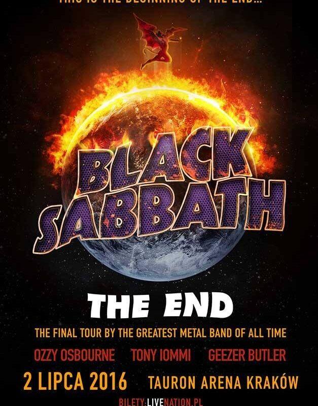 Black Sabbath w Krakowie