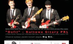 """Wystawa """"Defil – kultowe gitary PRL"""" w Muzeum Techniki i Przemysłu NOT"""