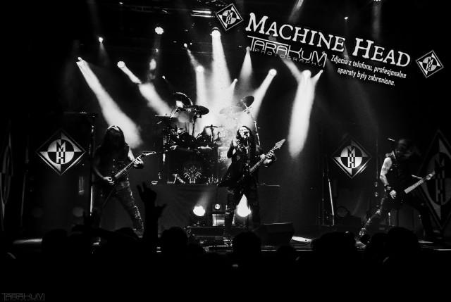 Machine Head zagrali w klubie B90 w Gdańsku