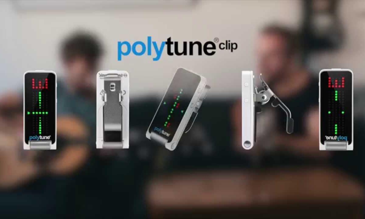 TC Electronic Polytune Clip