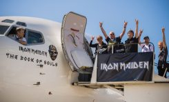 "Iron Maiden: lot fanów na odsłuch ""The Book of Souls"""