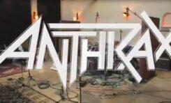 Anthrax prezentuje video ze studia