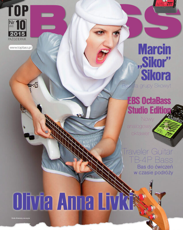 Olivia Anna Livki w dodatku TopBass