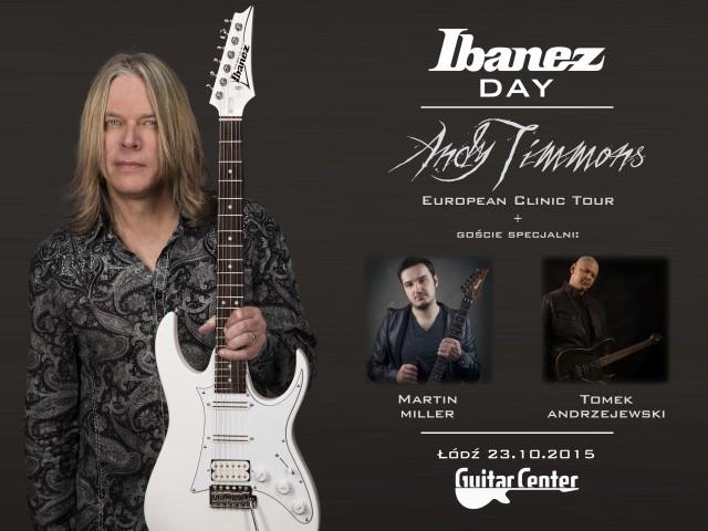 IBANEZ DAY już w najbliższy piątek w GuitarCenter