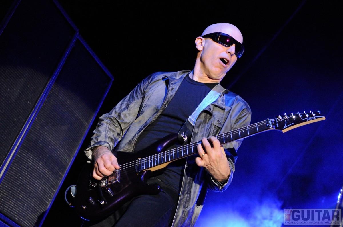 Joe Satriani zagrał na warszawskim Torwarze
