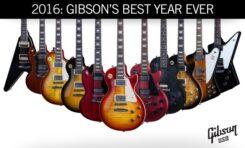 Nowe gitary Gibson USA na rok 2016