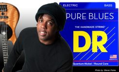 Victor Wooten gra na strunach DR Strings PURE BLUES