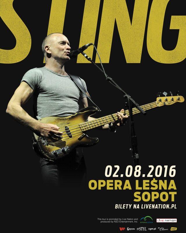 Sting w Operze Leśnej w Sopocie