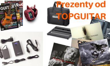 Świąteczna promocja prenumeraty TopGuitar - prezenty gratis!